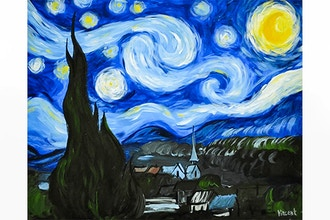 BYOB Painting: Starry Night (Astoria)